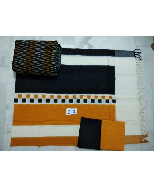 Double Ikat Cotton Suit 0004