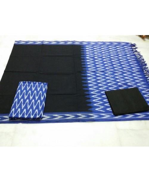 Cotton Ikkat suit (SOLD)