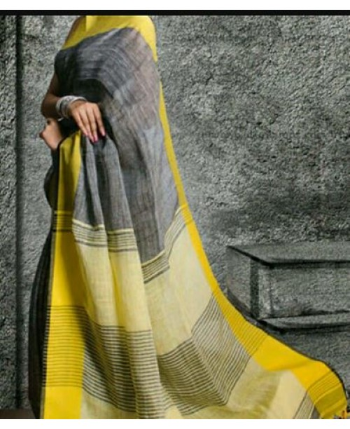 Linen Saree ( SOLD)